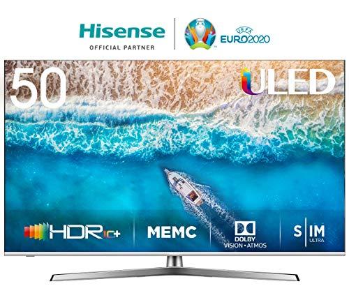 Hisense H50U7B - Smart TV ULED 50' 4K Ultra HD, Dolby Vision, Full HDR, Dolby Atmos Audio