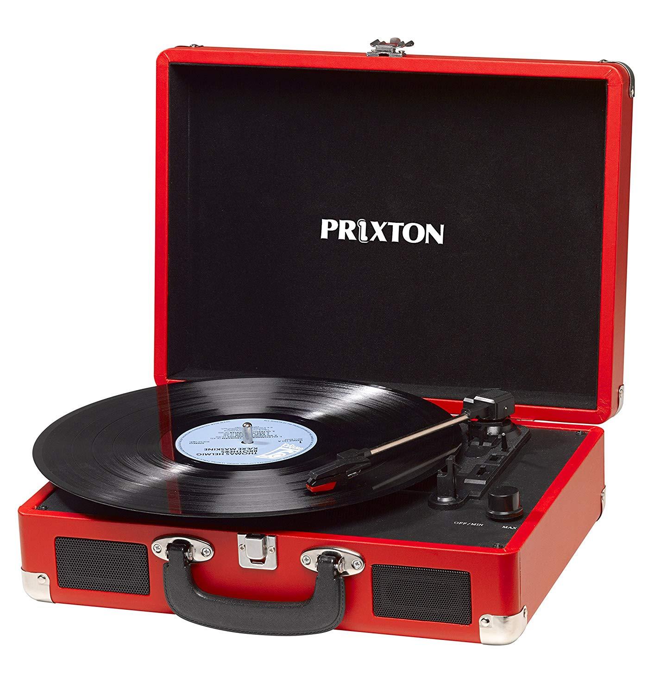 PRIXTON - Tocadiscos de Vinilo Vintage