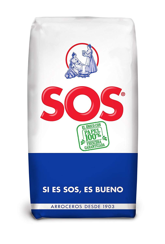 Arroz SOS 1kg a 0,91€ y 5kg de Arroz La Fallera por 4€