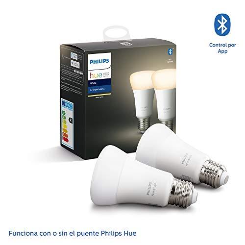 Philips Hue White Pack de 4 bombillas LED inteligentes