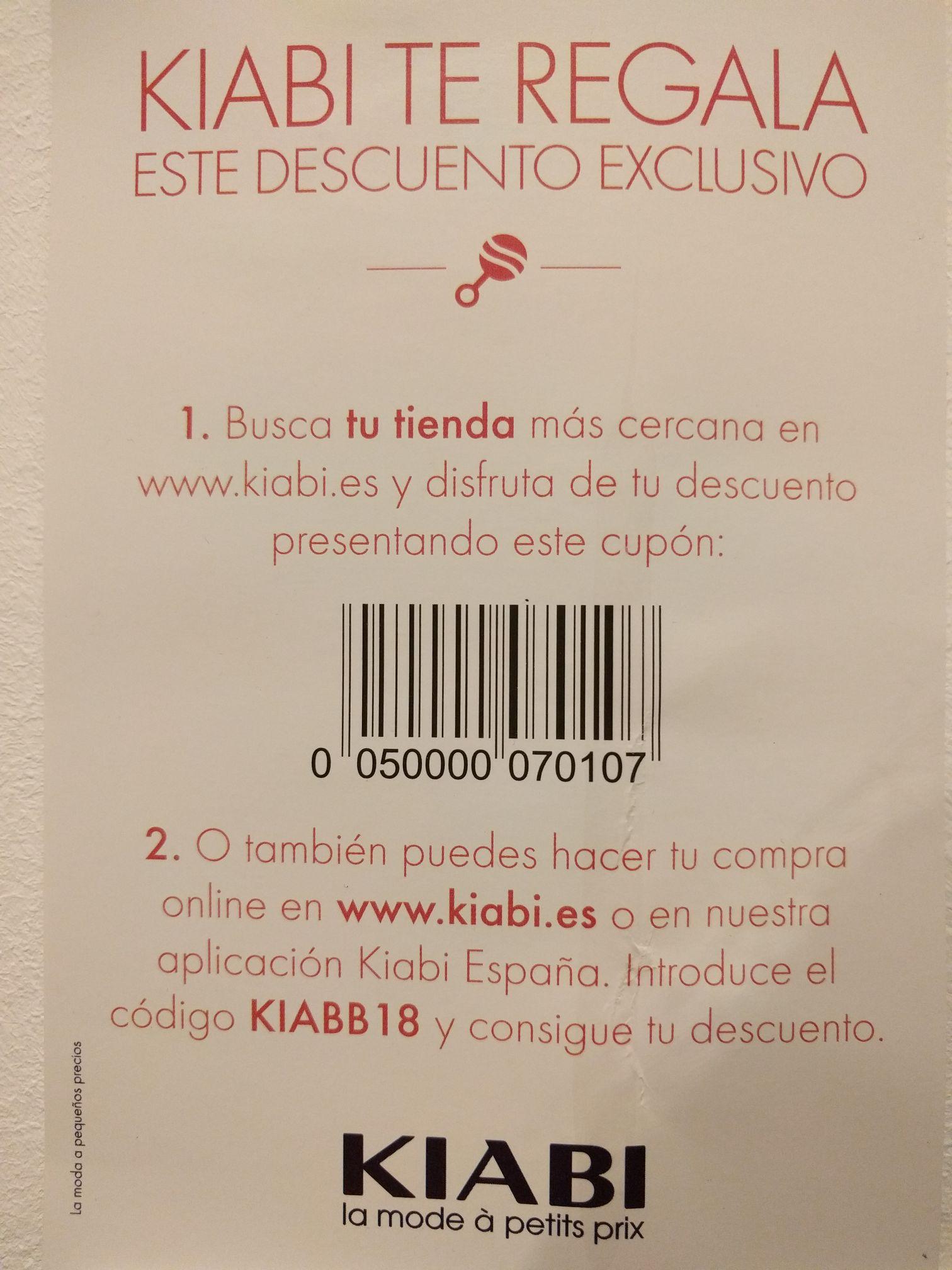 10€ de descuento por compras de 40€ o mas