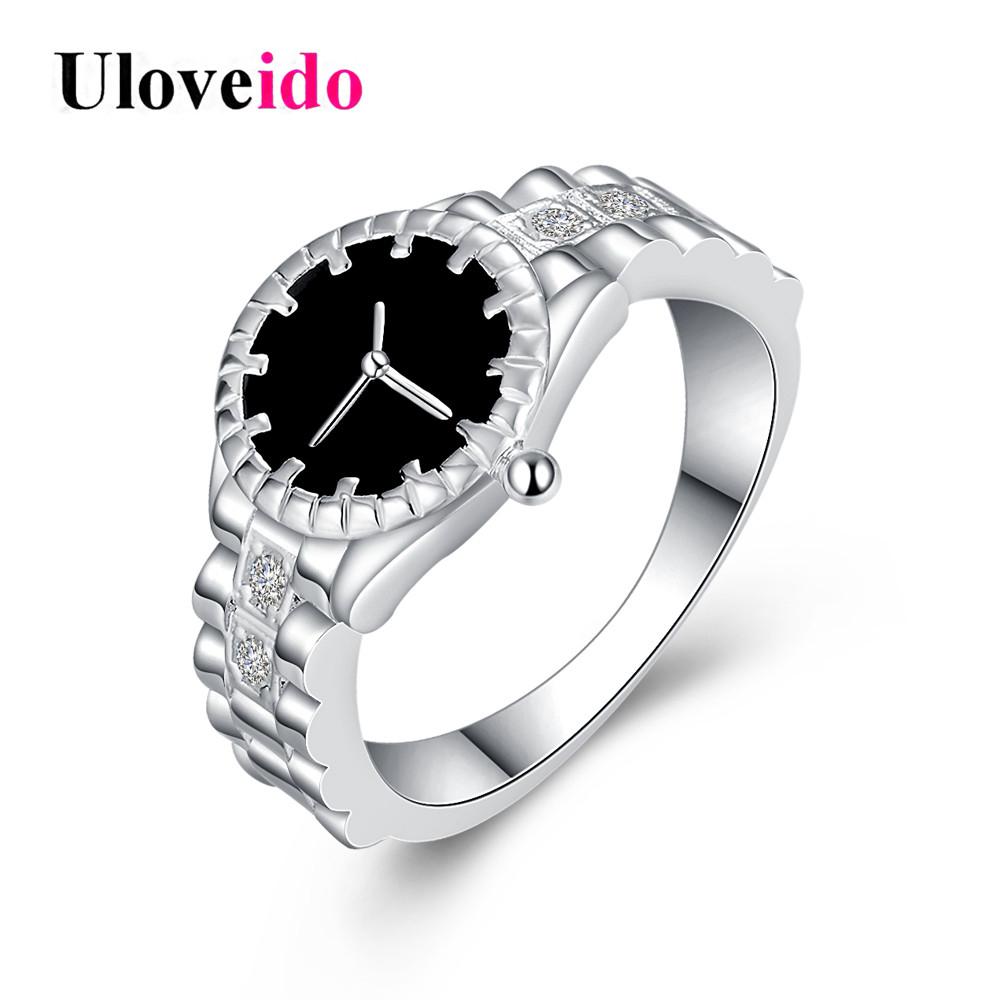 Anillo reloj para mujer