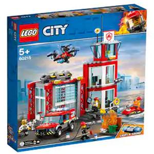 Pack LEGO Parque de bomberos 509 piezas, luces y sonido (AlCampo)