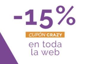 15% en toda la web Maquillalia
