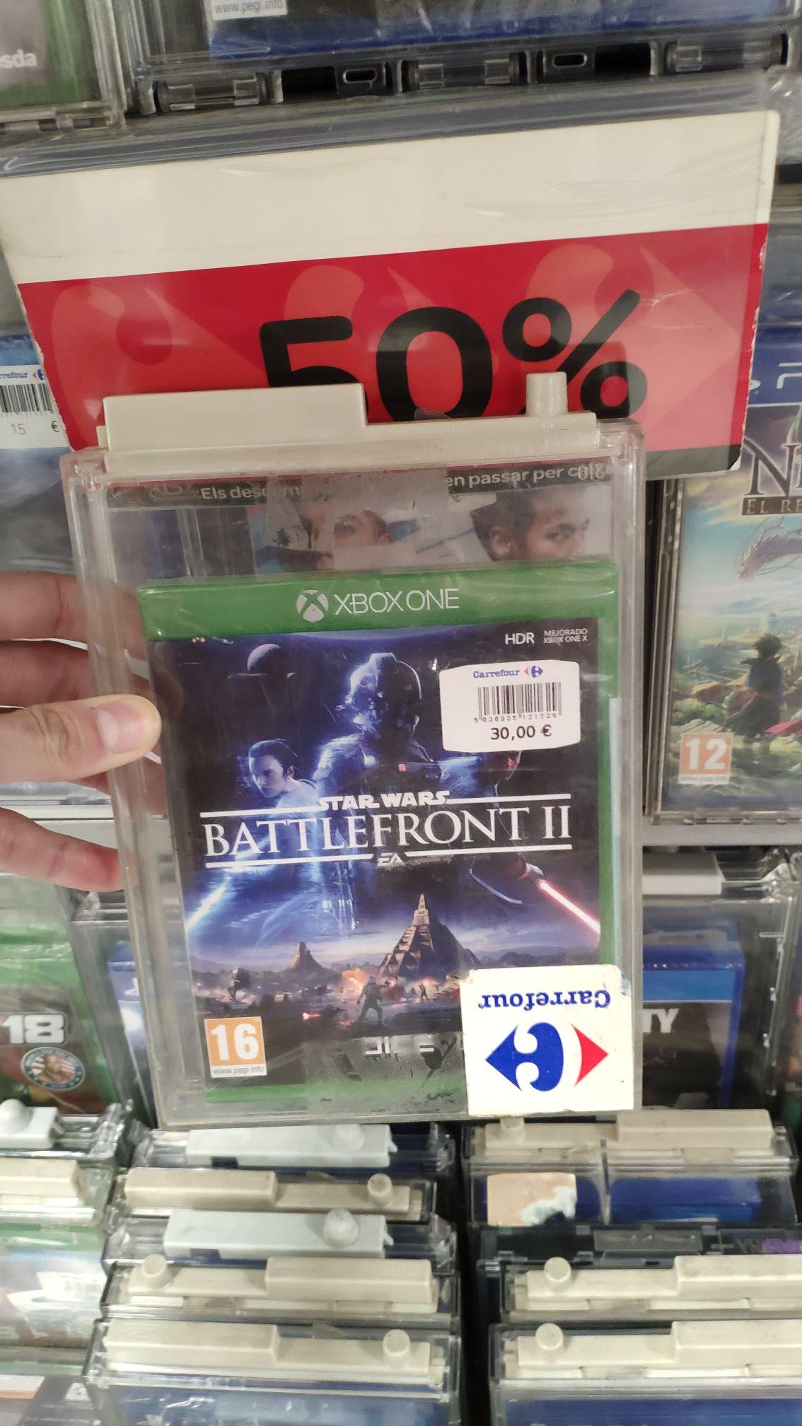 Star Wars Battlefront II Xbox One (Formato físico) - Carrefour