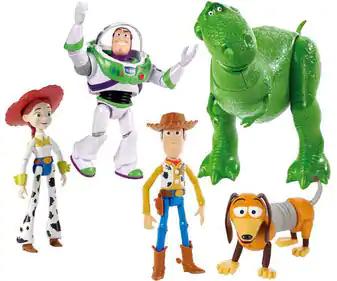 Figuras DISNEY de Toy Story 4 de 18cm (AlCampo)