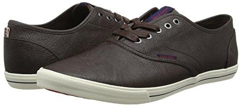TALLA 41 - Jack & Jones Jfwspider PU Sneaker Java, Zapatillas para Hombre