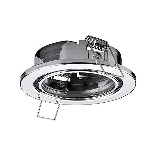Accesorio de iluminación (Reflector, Techo, Cromo, MR16, 25 mm, 8,3 cm) goobay 44782