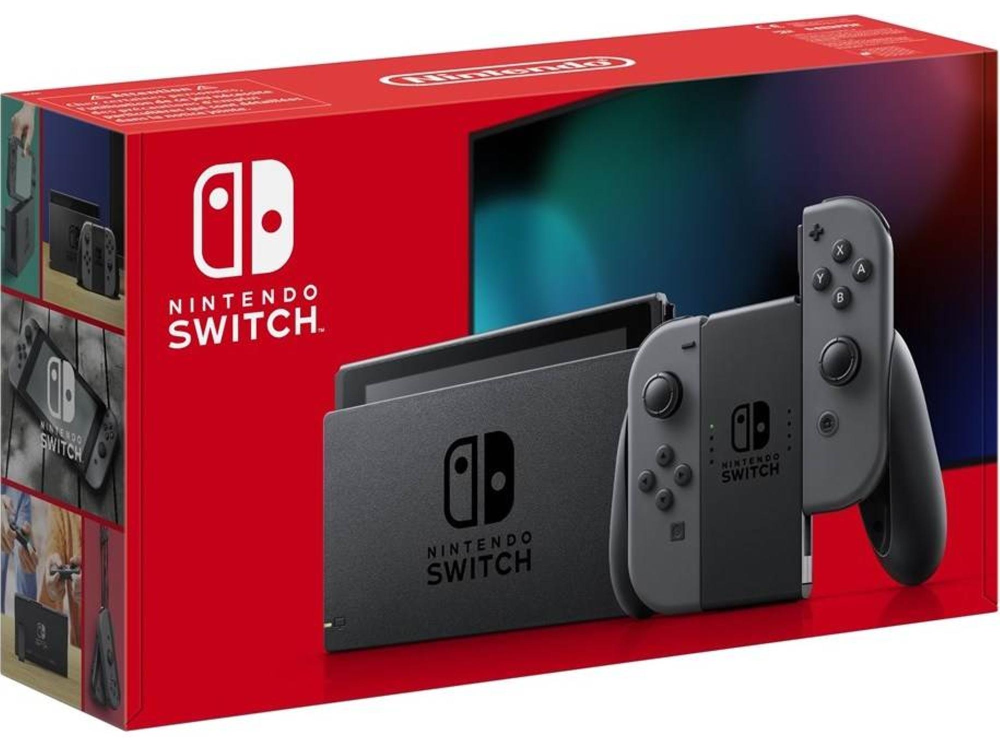 Consola Nintendo Switch V2 (32 GB - Gris
