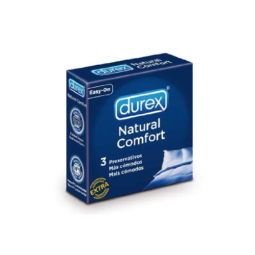 3 Preservativos Durex Natural Comfort