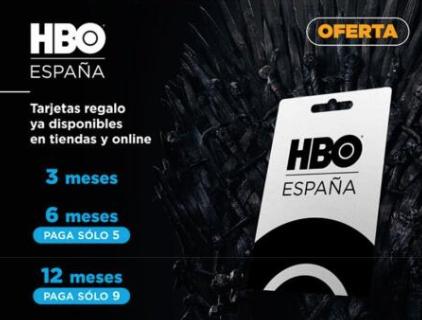 Meses HBO con descuento en GAME