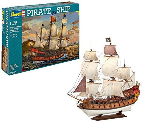 Revell 80-5605 Pirate Ship - Maqueta Reacondicionado