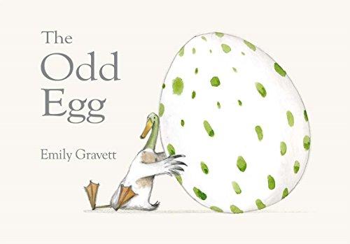"""Libro en inglés """"The odd egg"""""""