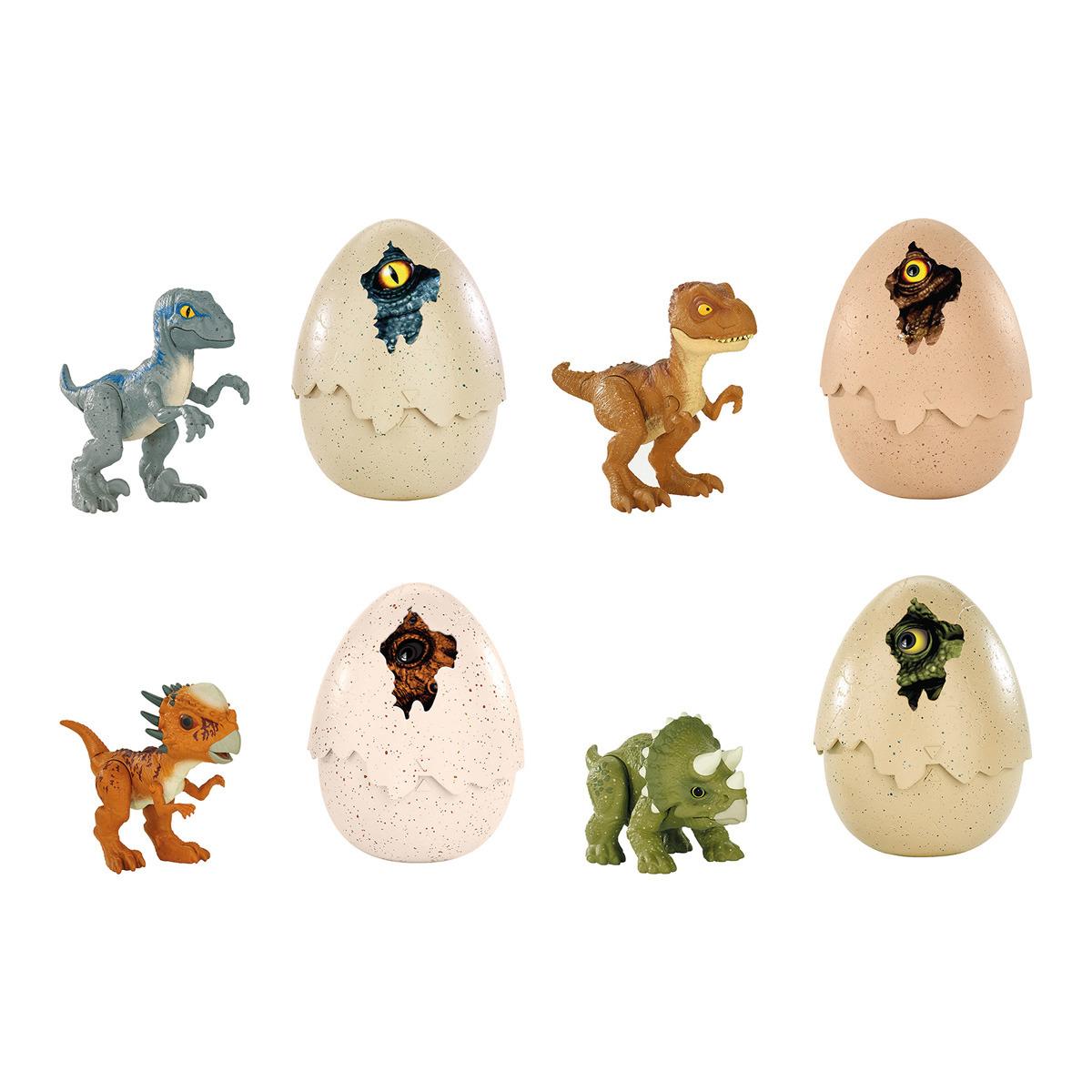 MATTEL Jurassic World Huevos de dinosaurio sorpresa