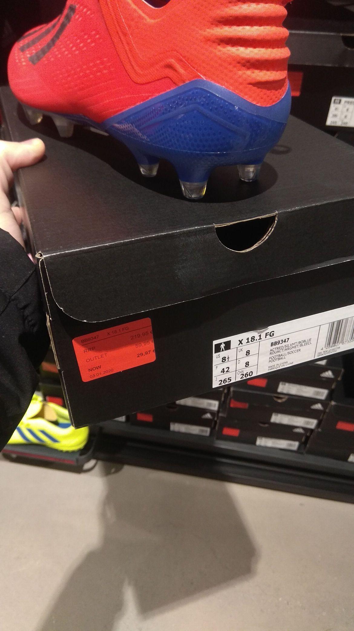 Adidas X 18.1 FG (Adidas Outlet San Sebastián de los Reyes)