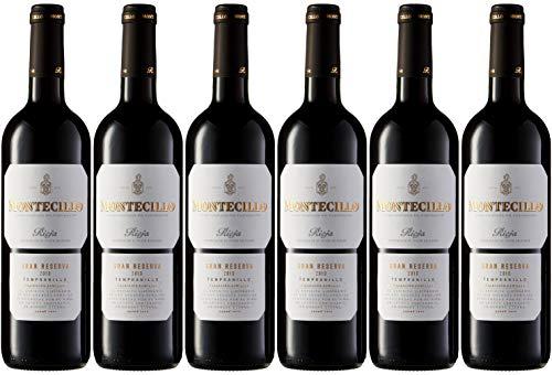 6 botellas de vino Rioja Montecillo Gran reserva 2010