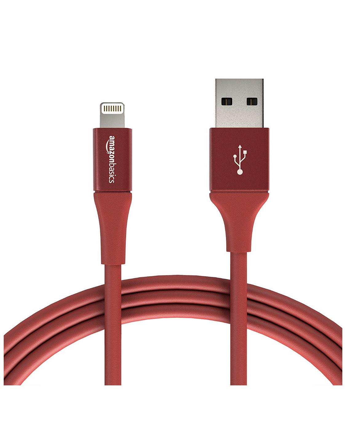 Cable lightning para iPhone de 1,8m a buen precio y envío prime