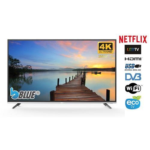 "TV LED Blue 49"" 4K Ultra HD Smart TV Wifi 3xHDMI 2xUSB Worten"