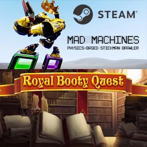 Gratis Steam: Mad Machines y Royal Booty Quest (SteamDB)