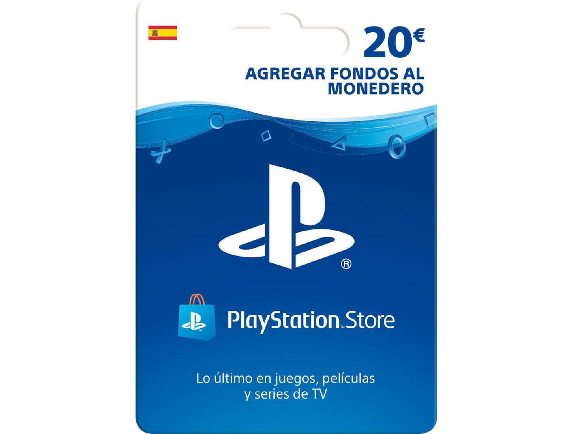 Tarjetas PSN de 20€ y 50€ formato físico por 18€ y 45€