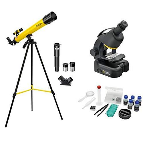National Geographic - Telescopio y microscopio para Principiantes