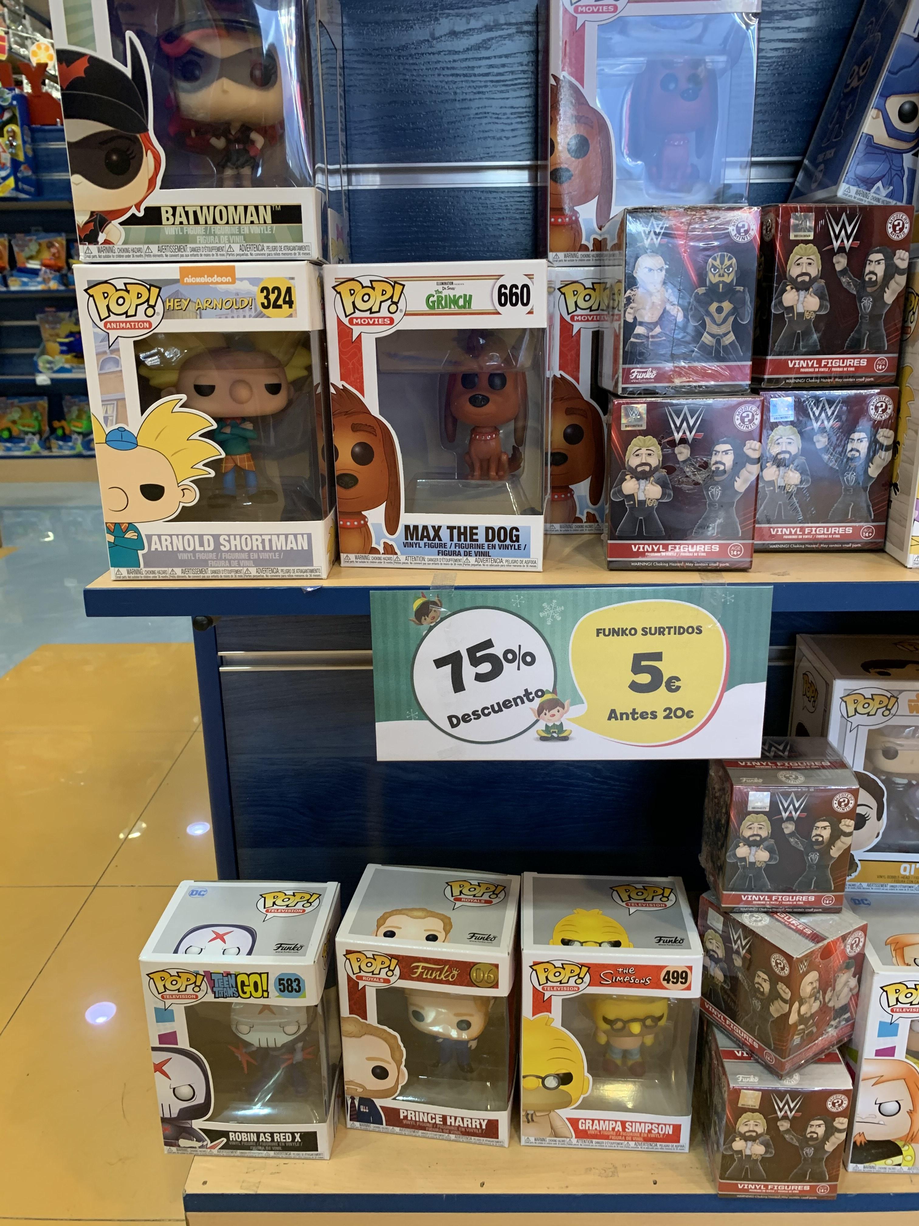 Selección Funko 5€ (Tiendas Poly)