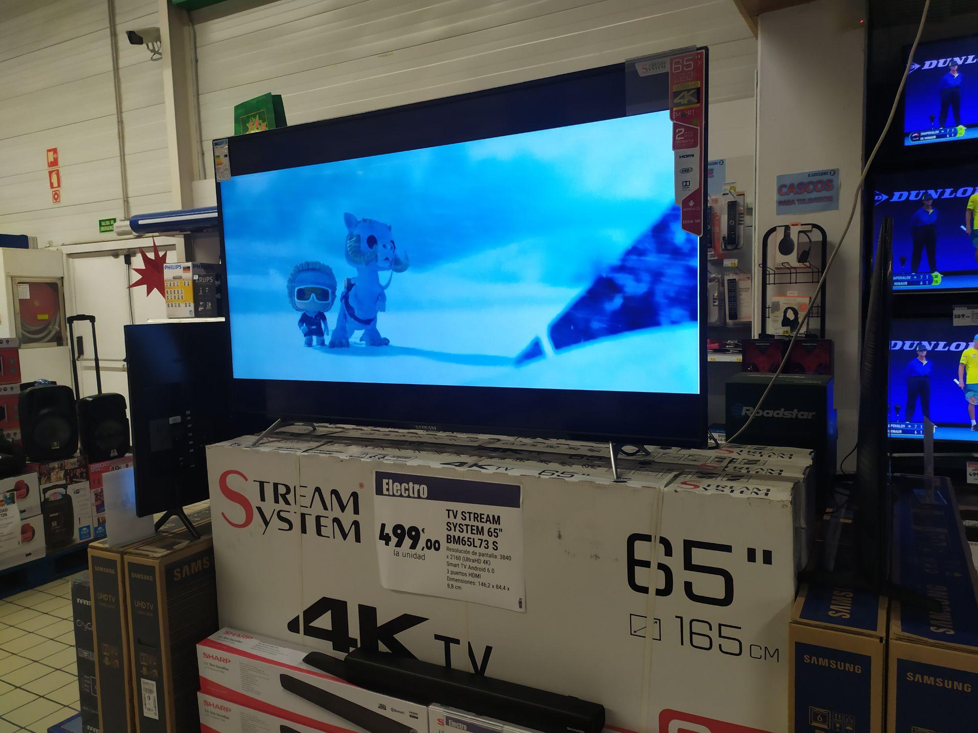 "TV 65"" Stream system (León)"
