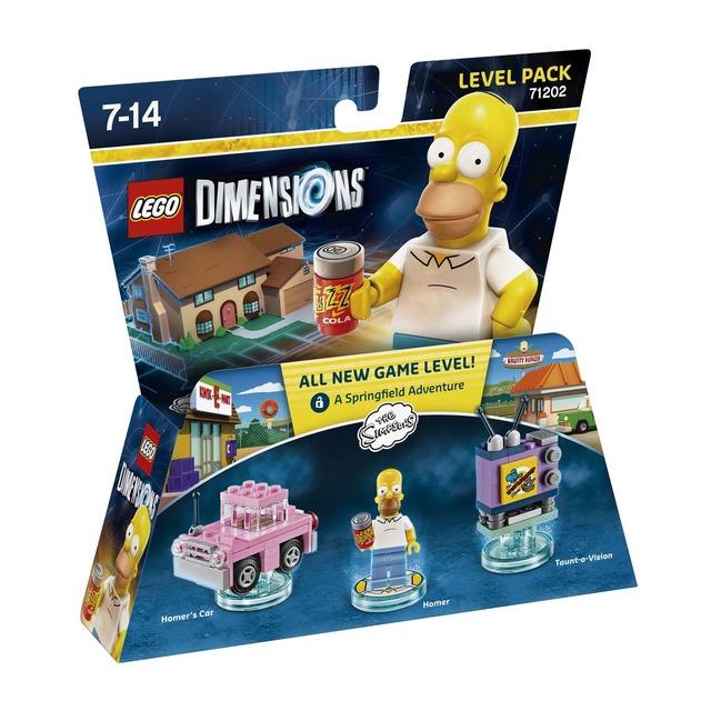 Lego Dimensions - The Simpsons - Level Pack (recogida gratis)