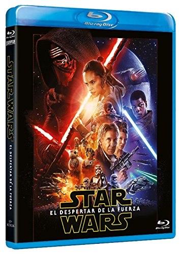 BluRay Star Wars VII El despertar de la fuerza