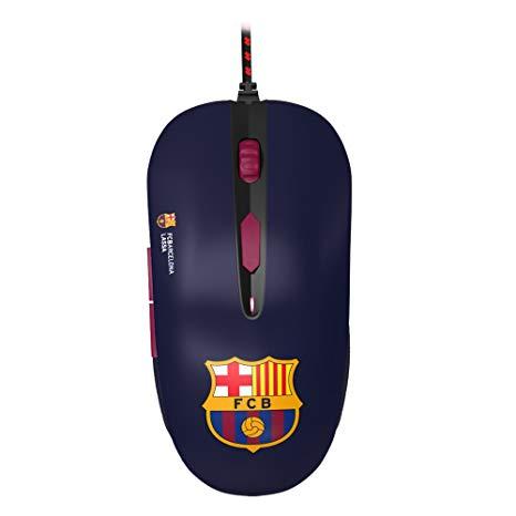 Mars Gaming MMBC - Ratón Gaming para PC del FC Barcelona Lassa