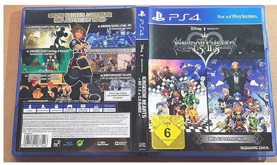 Kingdom Hearts Hd 1.5 + 2.5 Remix [Importación francesa]