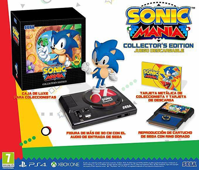 Sonic Mania Edición Coleccionista (Xbox One)