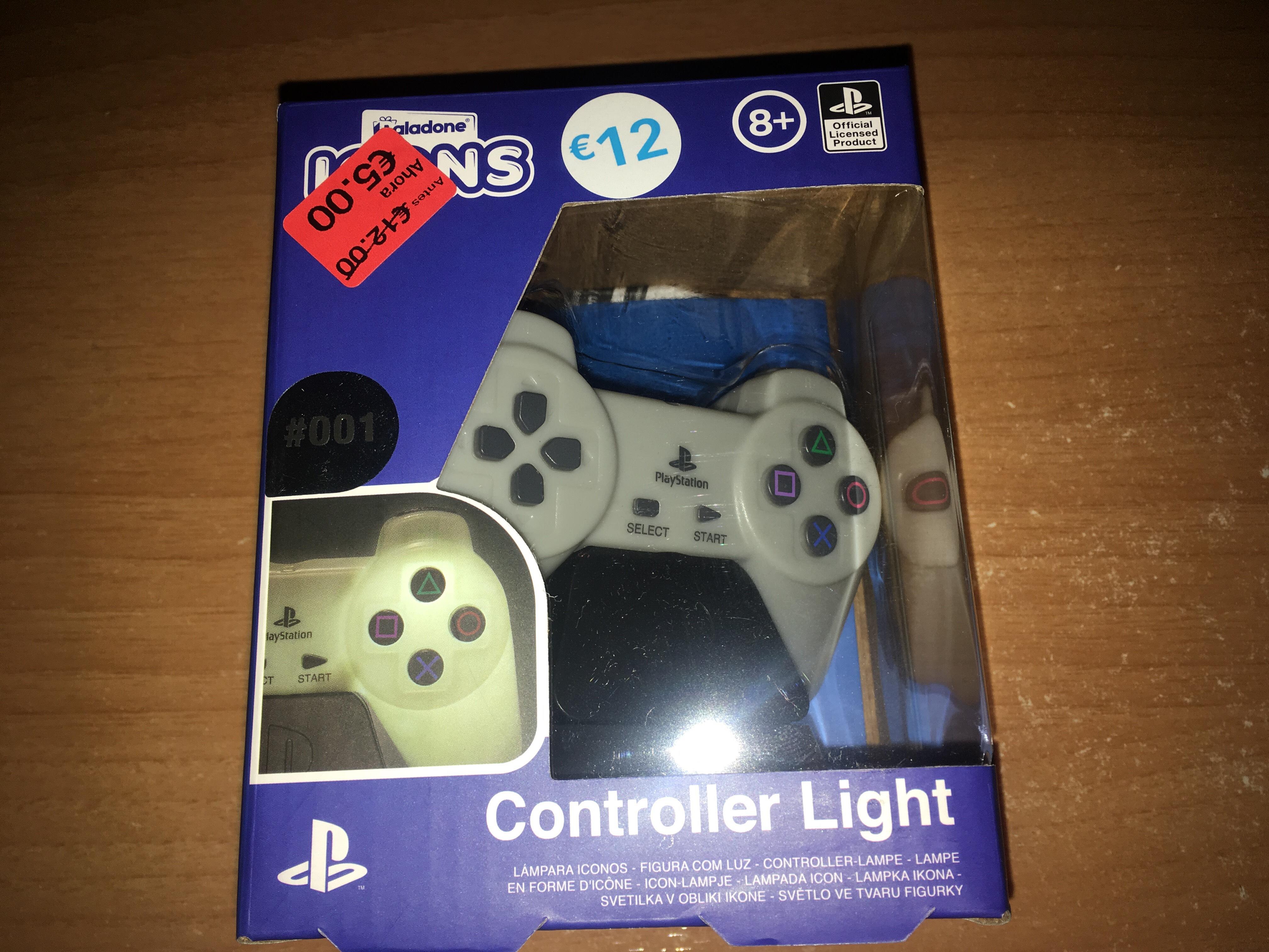 Lámpara Mando Playstation Primark
