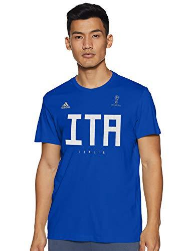 TALLA M - adidas Italy MNS Camiseta, Hombre