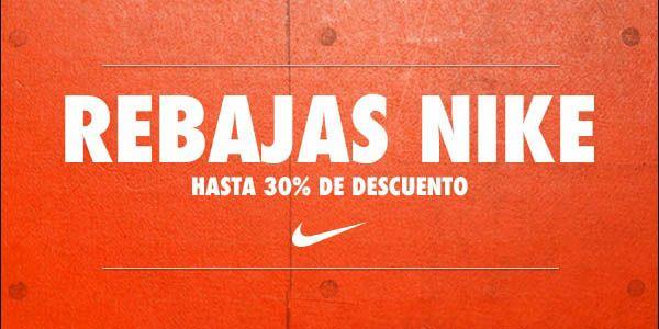 30% de descuento en la página de Nike en internet en hombres, mujeres y niños + envío gratis