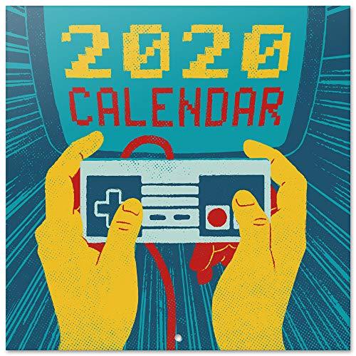 ERIK - Calendario de pared 2020 Gameration, 30 x 30 cm (incluye póster de regalo)