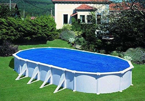 Cobertor de Verano para Piscina Ovalada de 485 x 335 cm