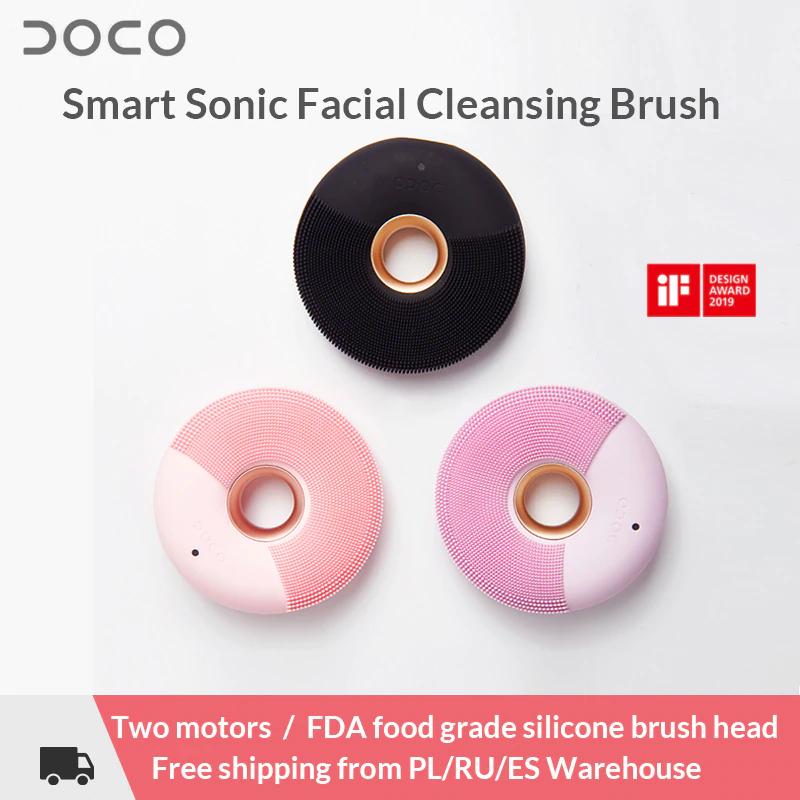 Xiaomi DOCO cepillo de limpieza facial eléctrico MIJIA