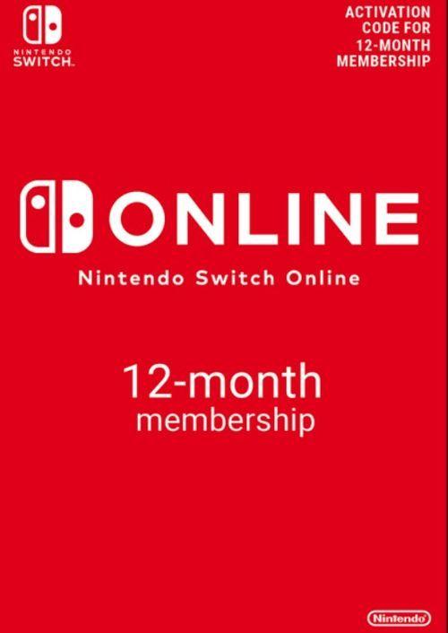 1 año de Nintendo switch online a 17.49