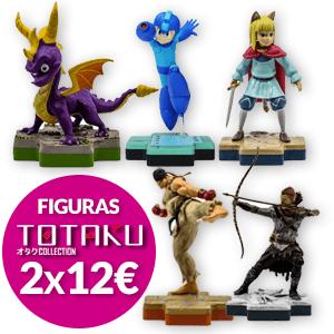 2x12 MEJOR OFERTA en Figuras Totaku!