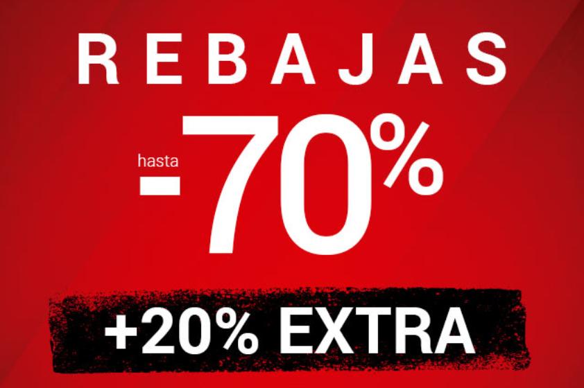 Venca hasta 70% + 20% adicional