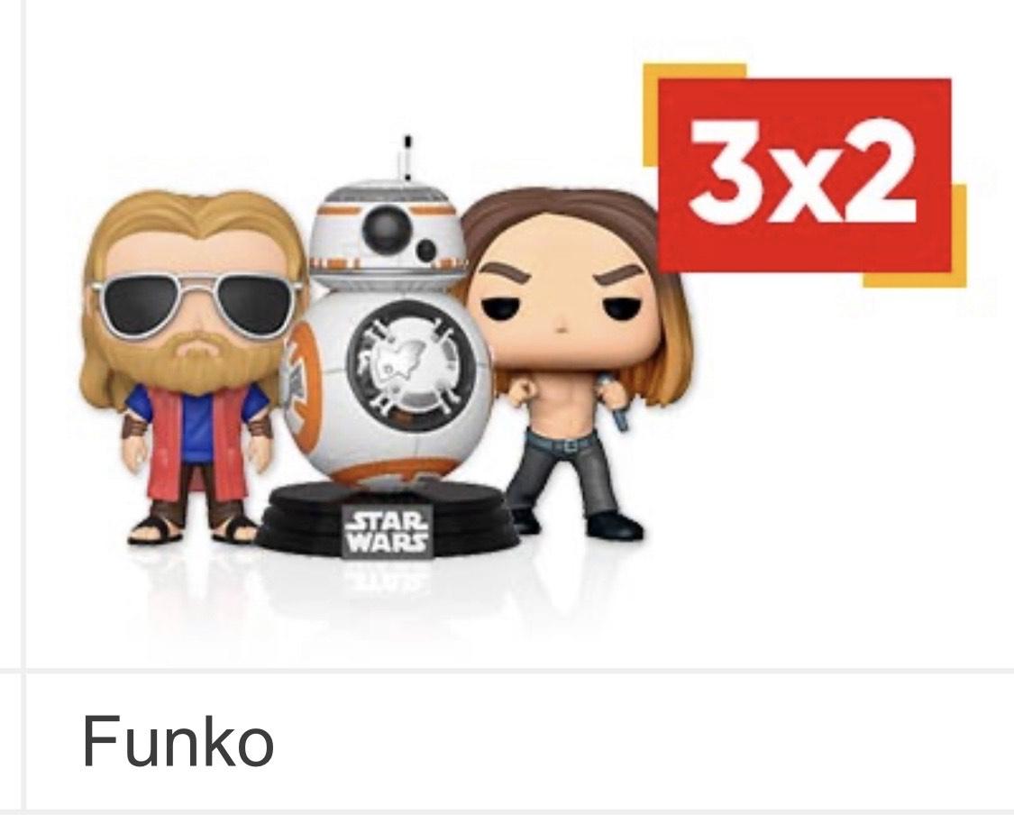 3x2 figuras Funko FNAC!