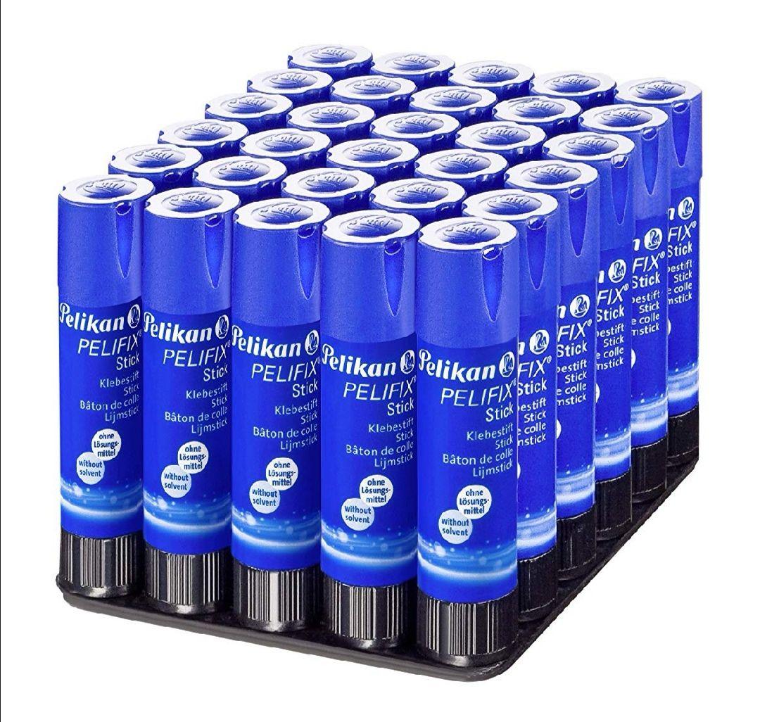 Pelikan - Barras adhesivas - Pack de 30 unidades.(0.24 céntimos la unidad)