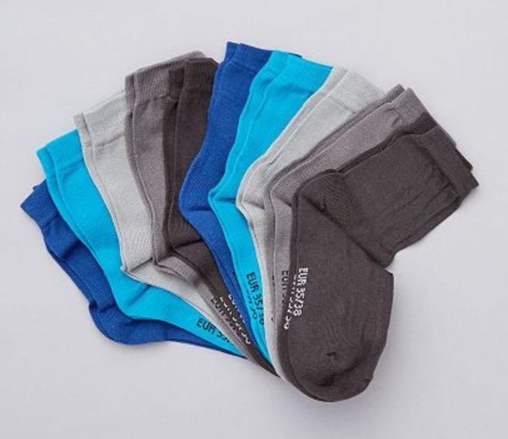 Juego de 10 pares de calcetines (Tallas desde la 27 a la 38)