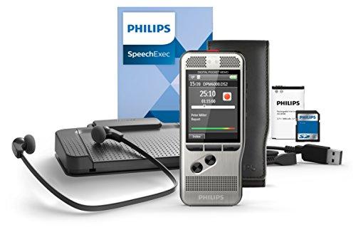 Philips Pocket Memo DPM6700 [Conjunto de dictado y transcripción]