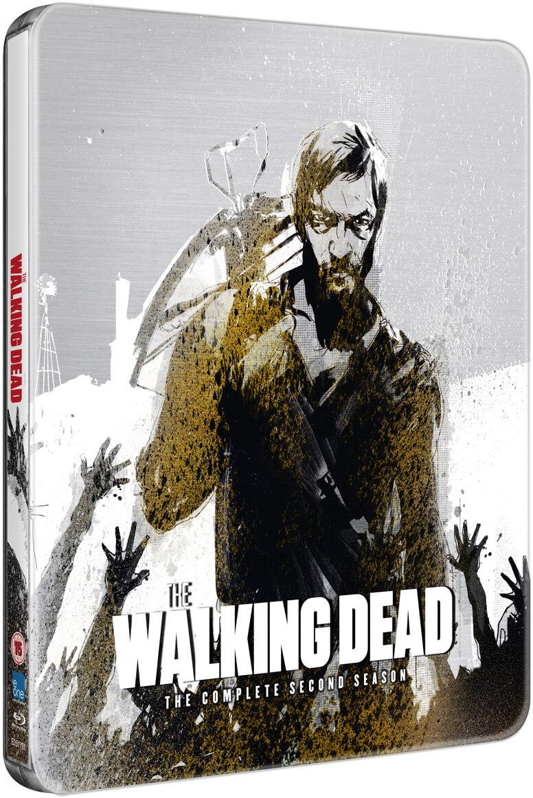 BLU-RAY The Walking Dead: Temporada 2 - Steelbook ed. Limitada V.O.