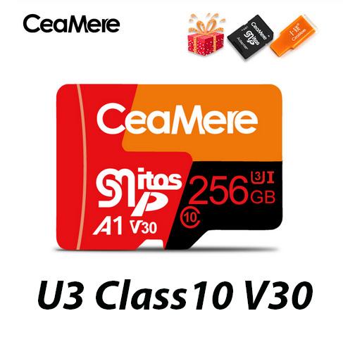 Tarjeta microSD 256Gb U3 Class10 V30