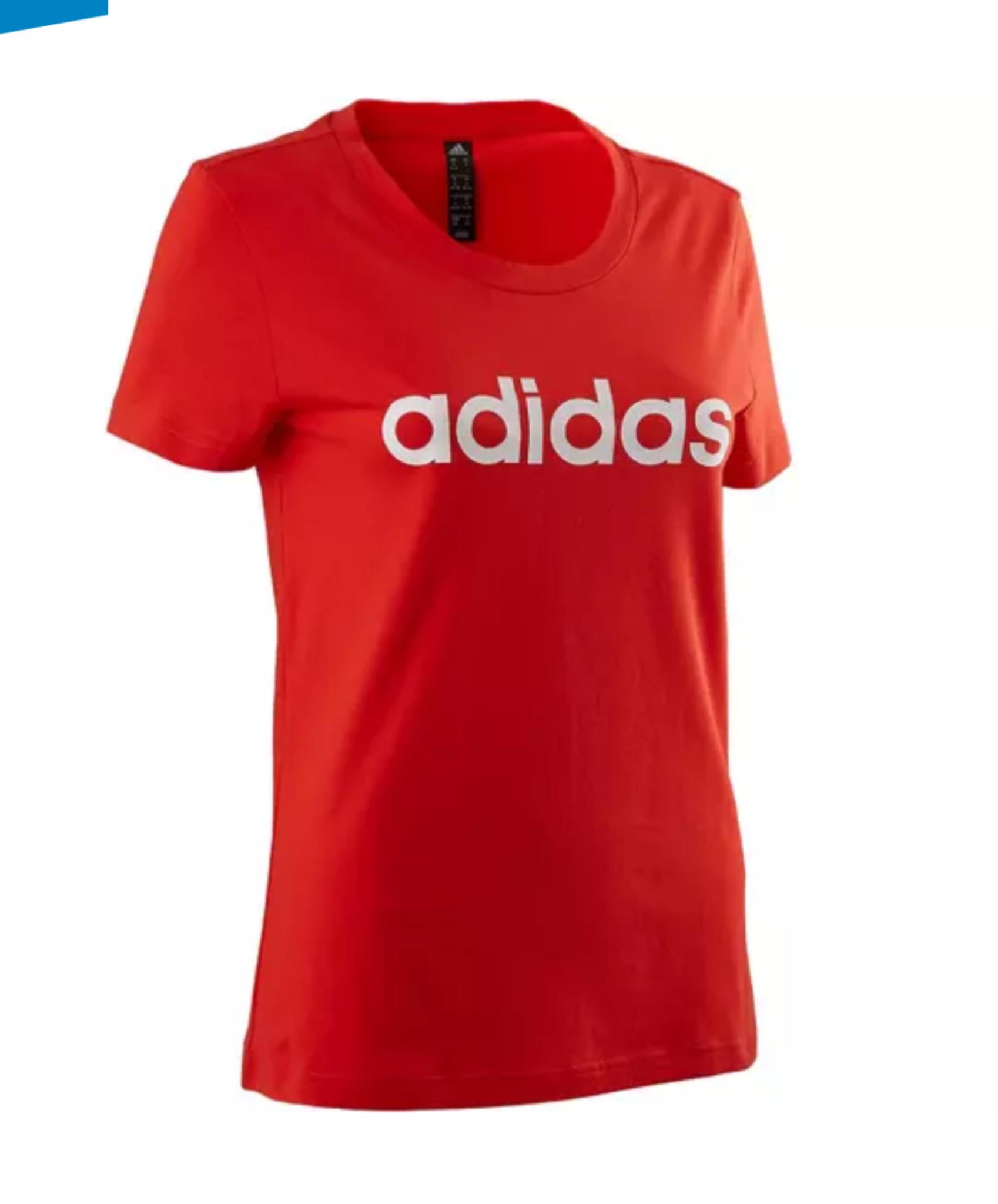 Camiseta roja ADIDAS