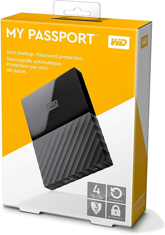 "WD My Passport 4 TB (2.5"", USB 3.0)"