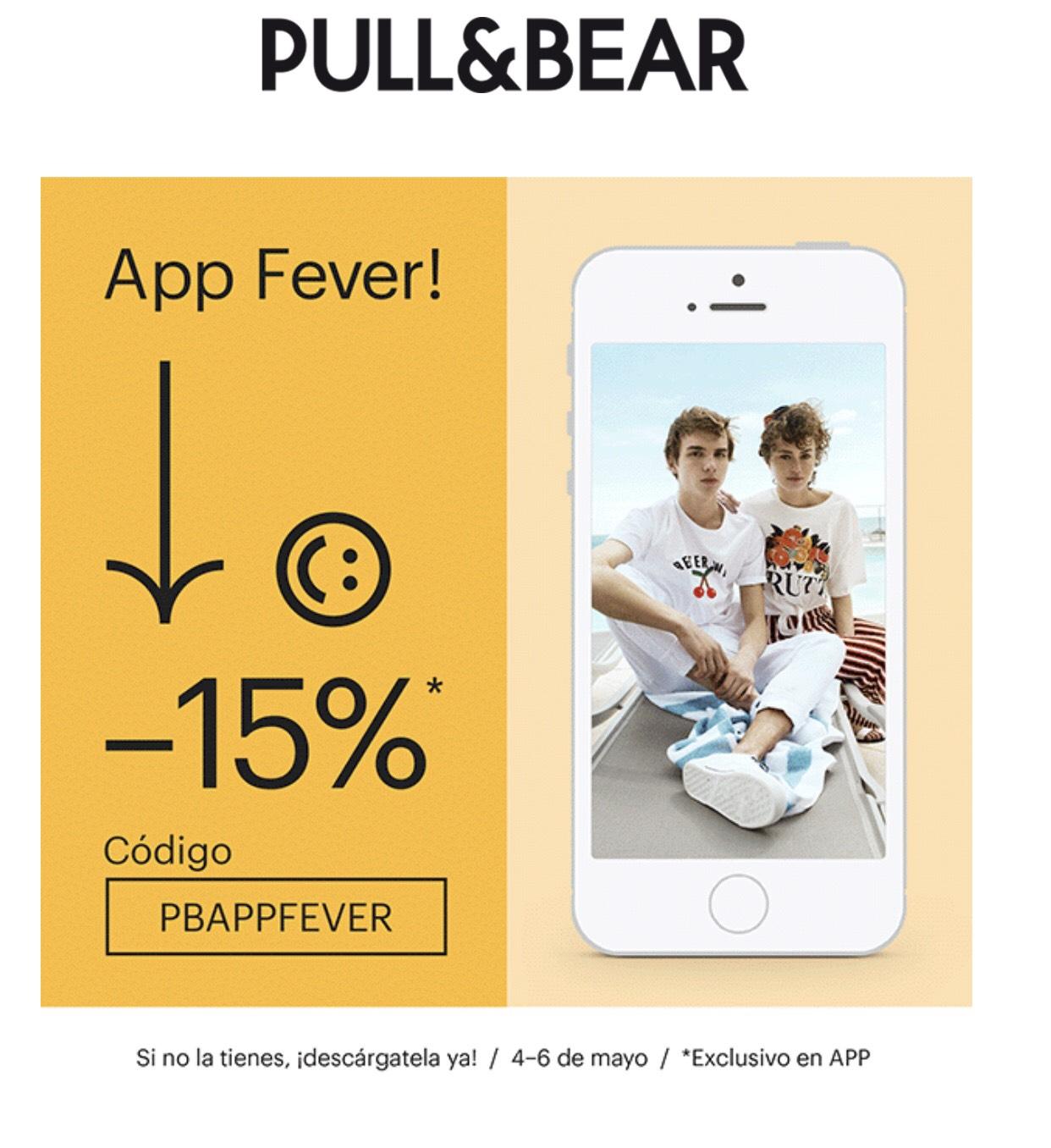 15% menos en Pull&Bear